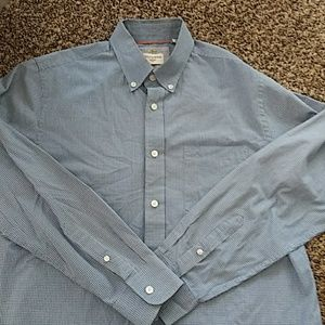 Mens Dockers button down long sleeve